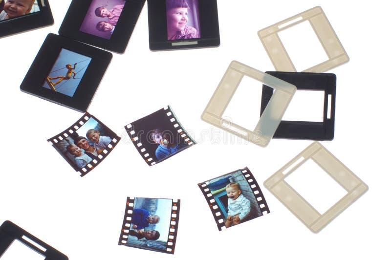 Película do vintage foto de stock