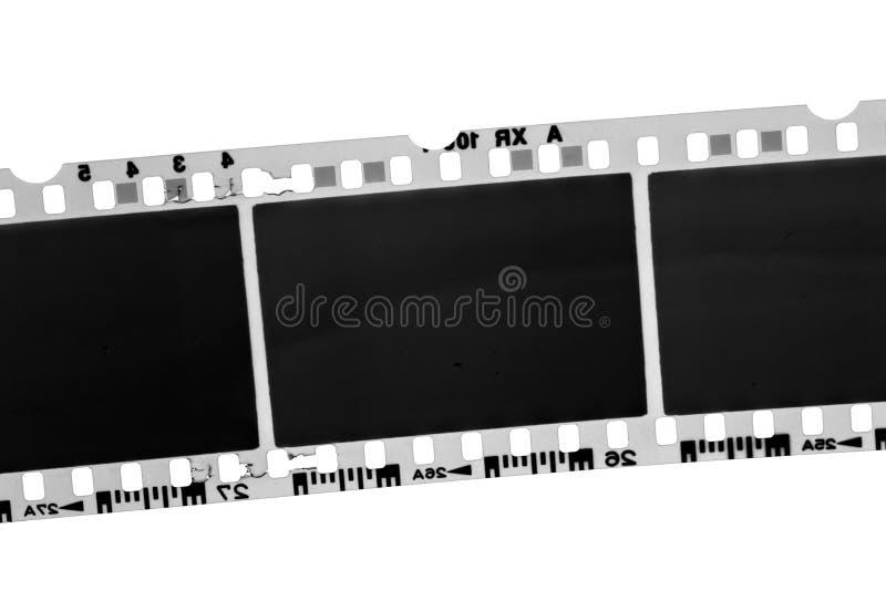 Película fotográfica blanco y negro vieja imágenes de archivo libres de regalías