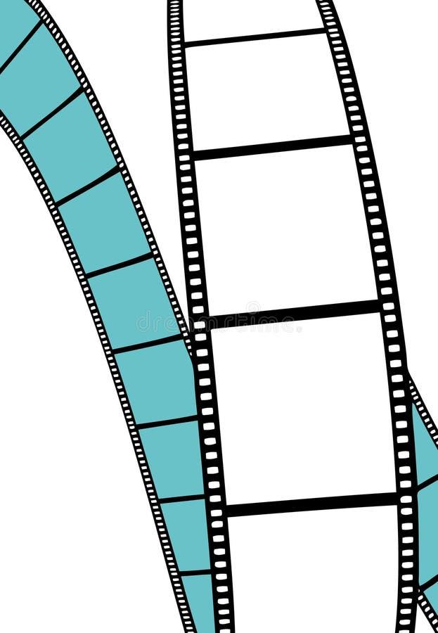Película isolada do filme/foto ilustração stock