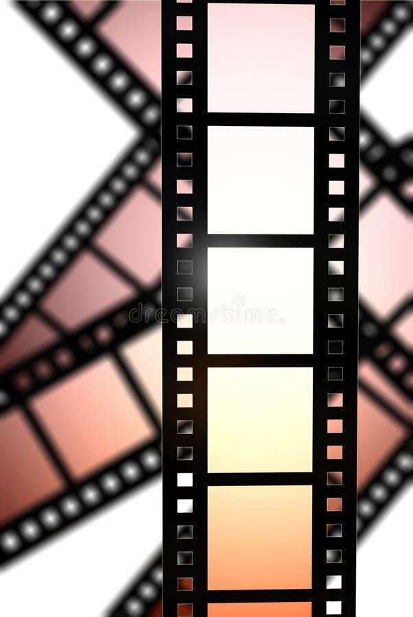 Película negativa stock de ilustración