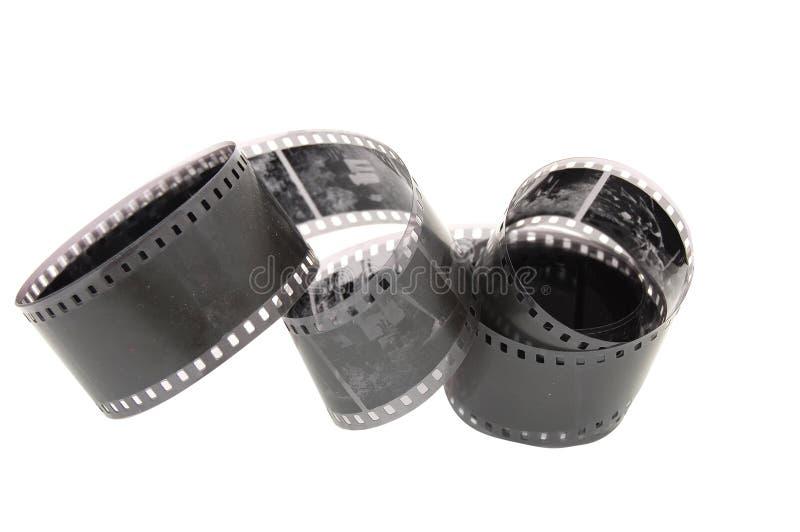 Película negativa fotografia de stock