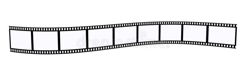 Película negativa de la foto libre illustration