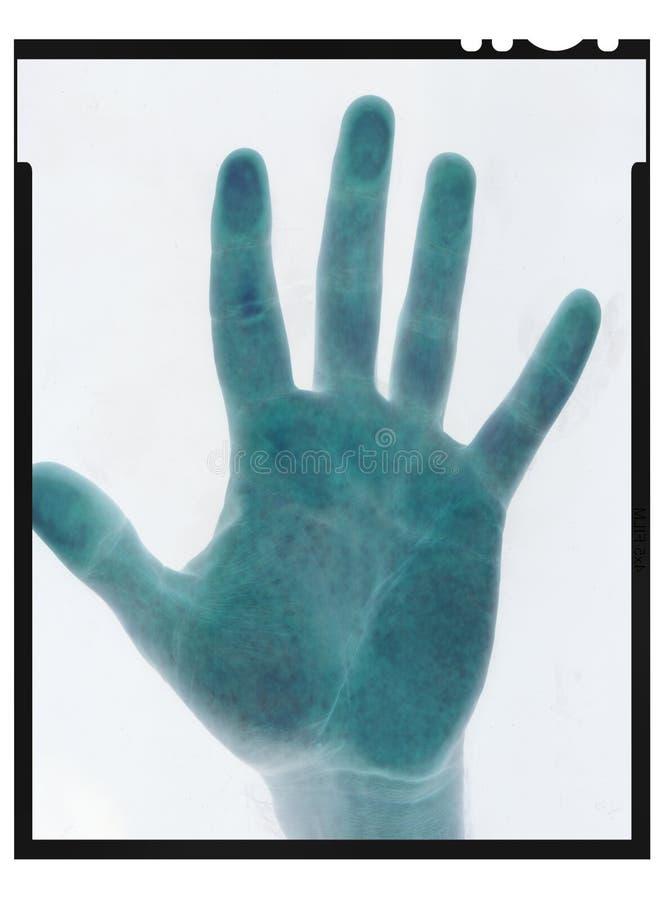 Película negativa de la mano imágenes de archivo libres de regalías