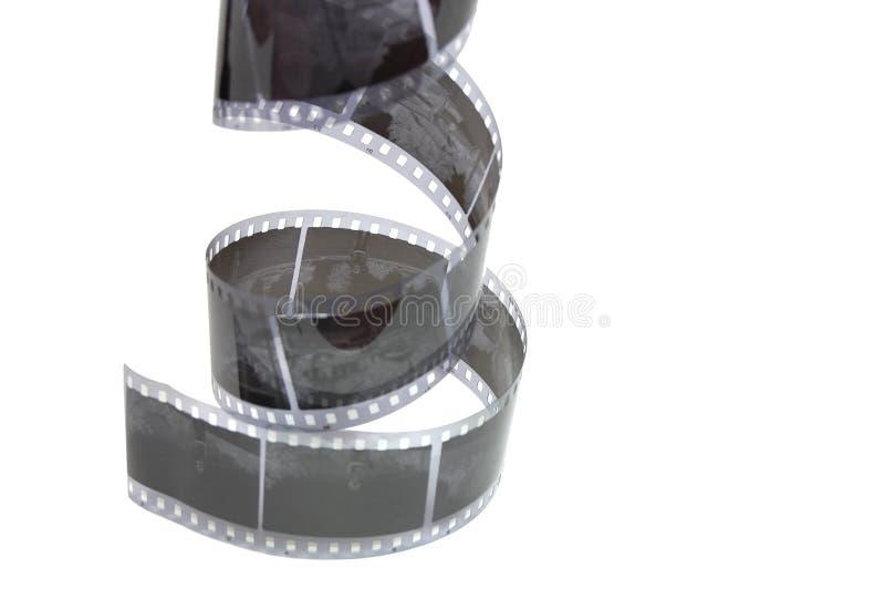Película negativa velha fotografia de stock