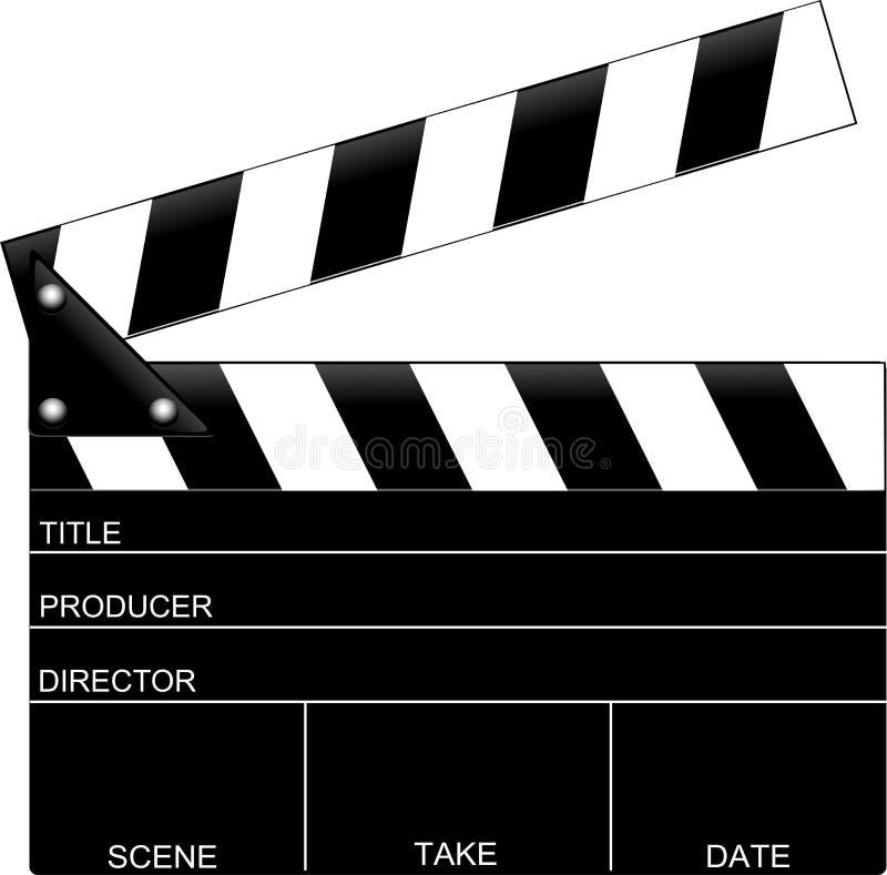 Película-Película 7 stock de ilustración