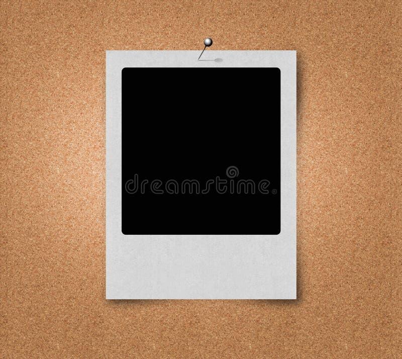 Película polaroid ilustración del vector