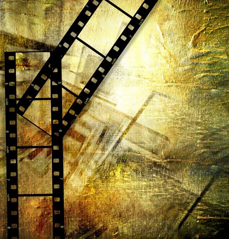 Película retra stock de ilustración