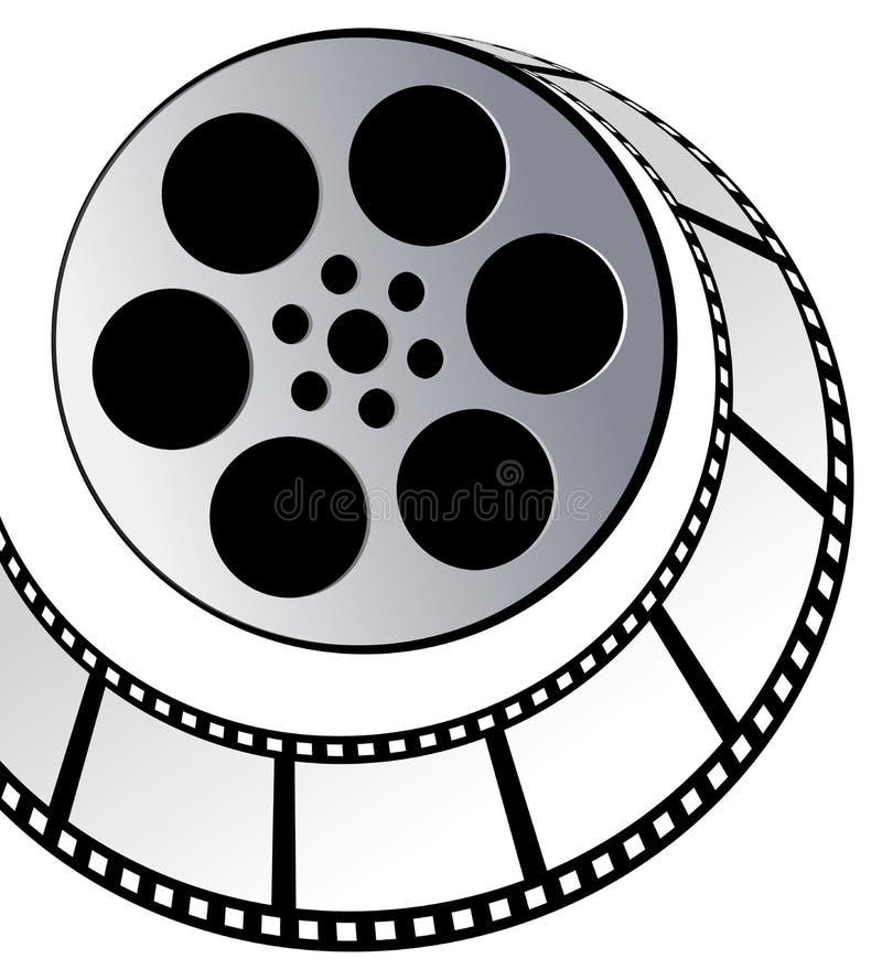 Película verdadera ilustración del vector