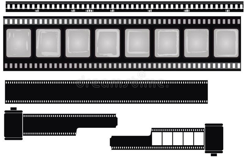 Películas aisladas libre illustration