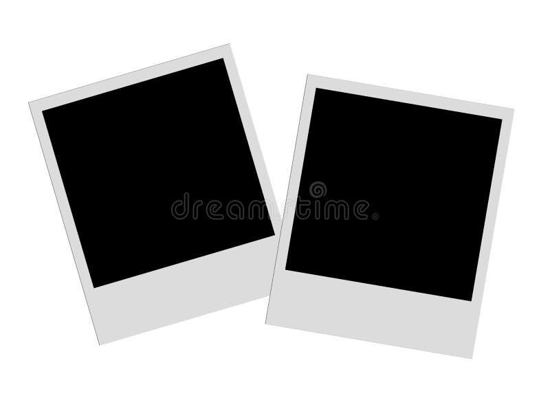 Películas polaroid fotos de archivo libres de regalías