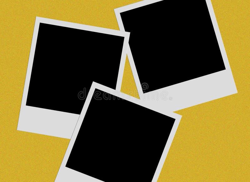 Películas polaroid fotografía de archivo libre de regalías