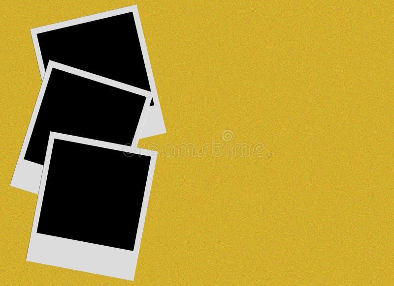 Películas polaroid imagenes de archivo