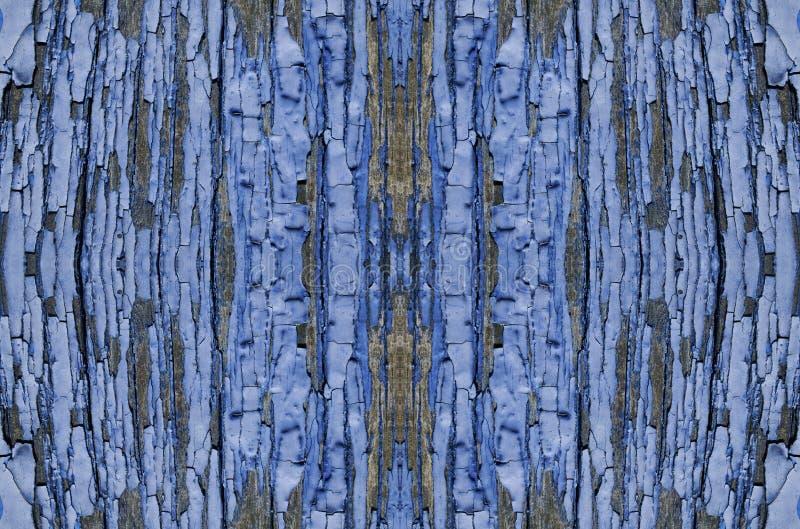 peladura azul de los tableros de madera, cartelera de la pintura imágenes de archivo libres de regalías