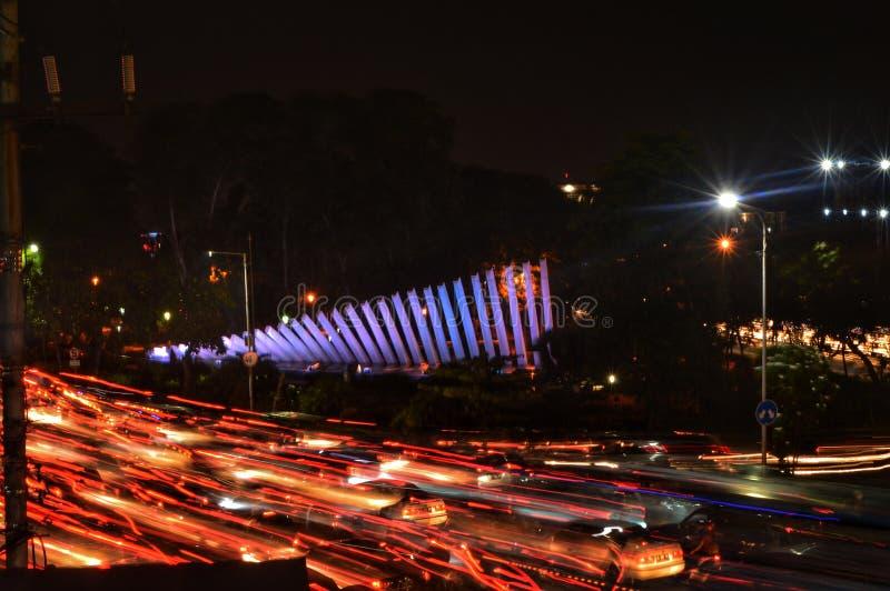 Pelangipark Surabaya Indonesië stock foto's