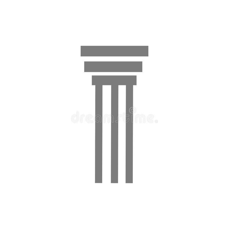 pelare royaltyfri illustrationer