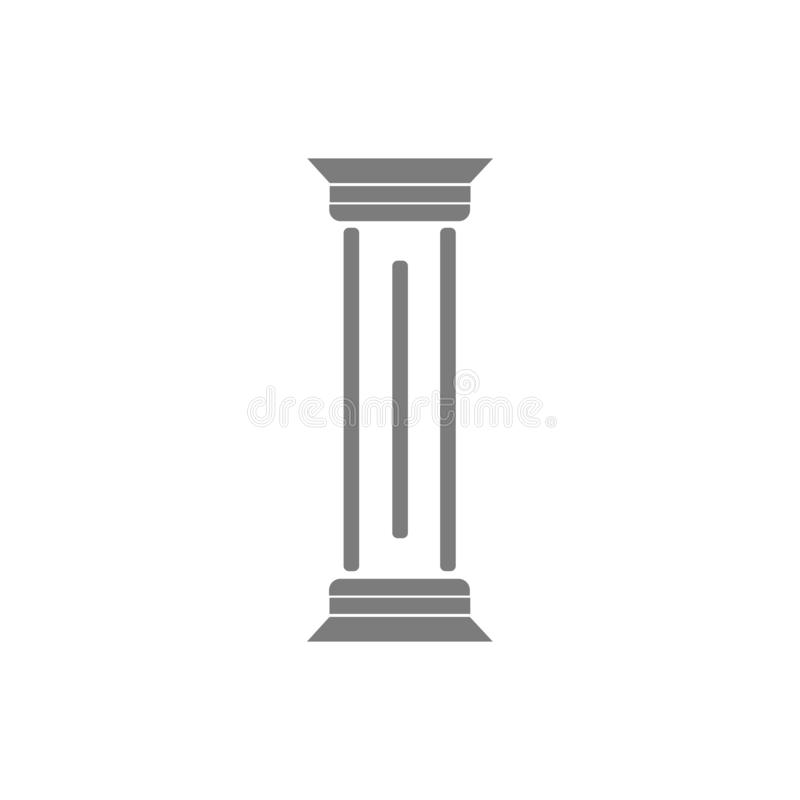pelare stock illustrationer