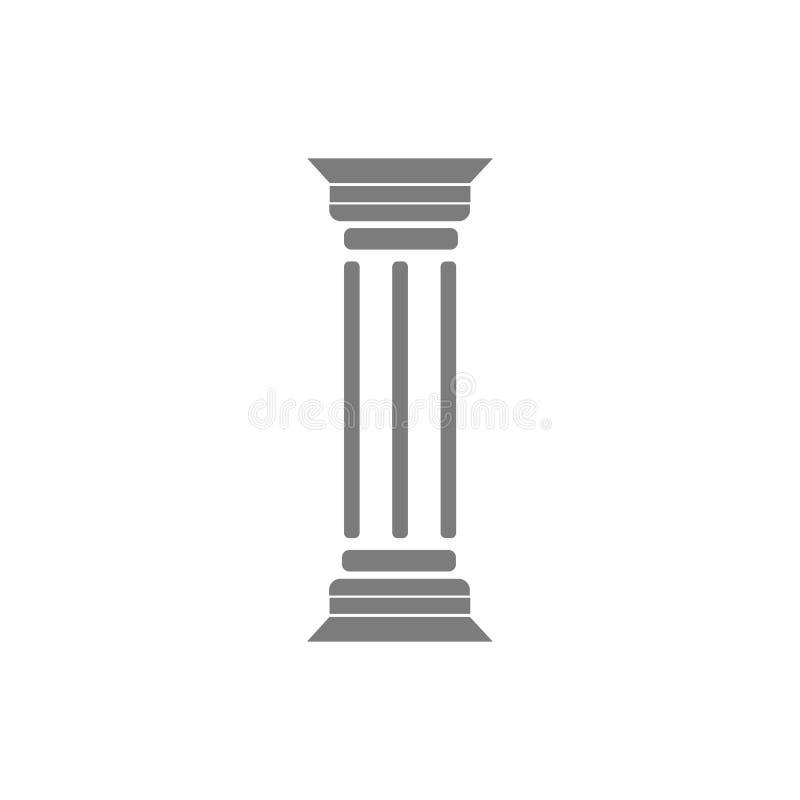 pelare vektor illustrationer