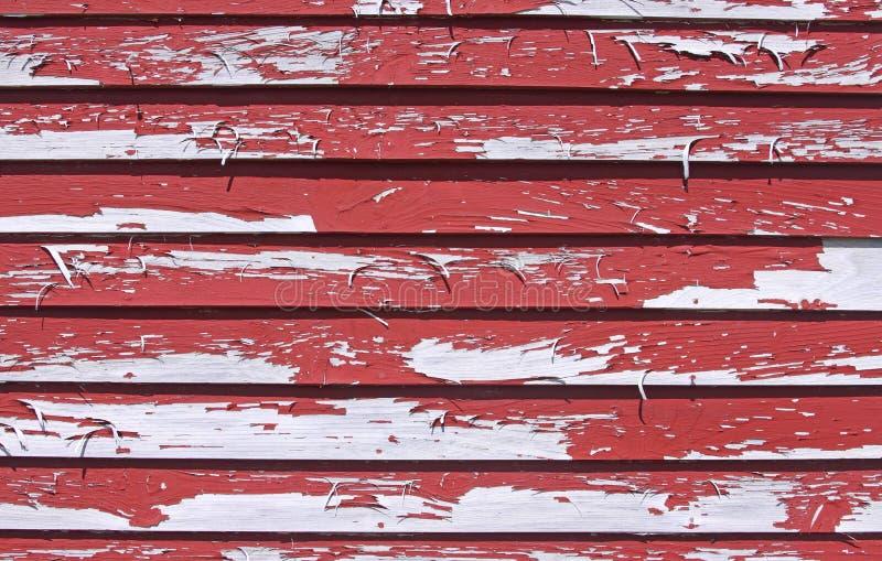 Pelatura della vernice rossa immagine stock libera da diritti