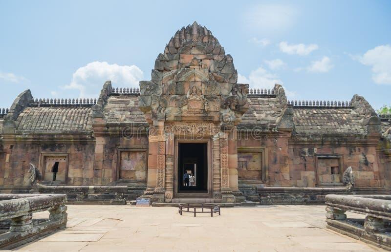 Peldaño de Prasat Phanom imagen de archivo libre de regalías