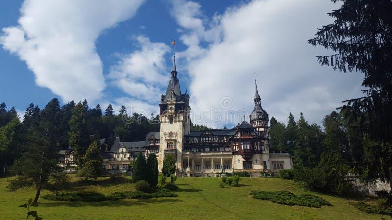 PeleÈ™城堡 免版税库存照片
