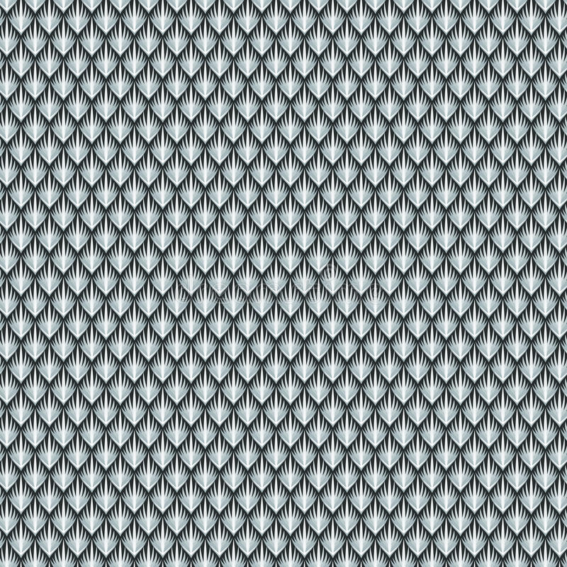 Pele cinzenta dos répteis ilustração stock