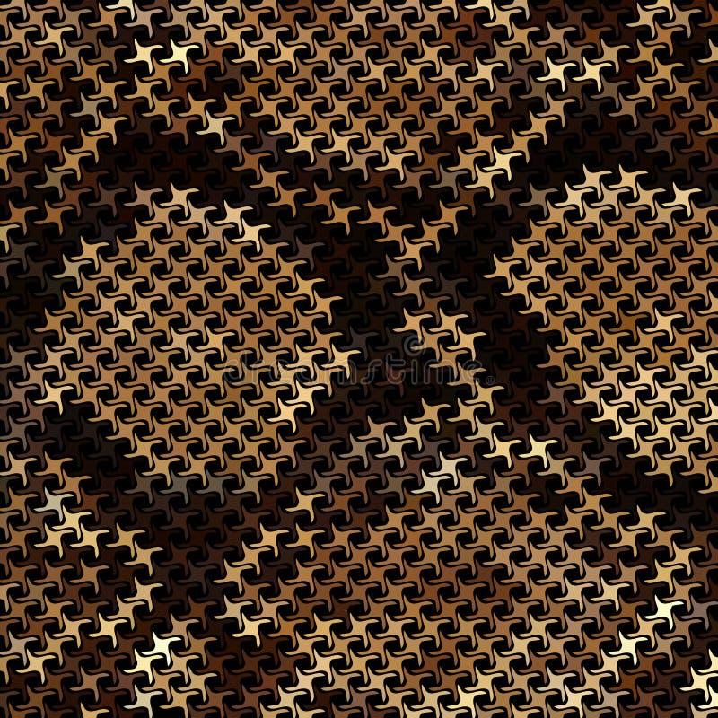 Pele de serpente do mosaico ilustração do vetor