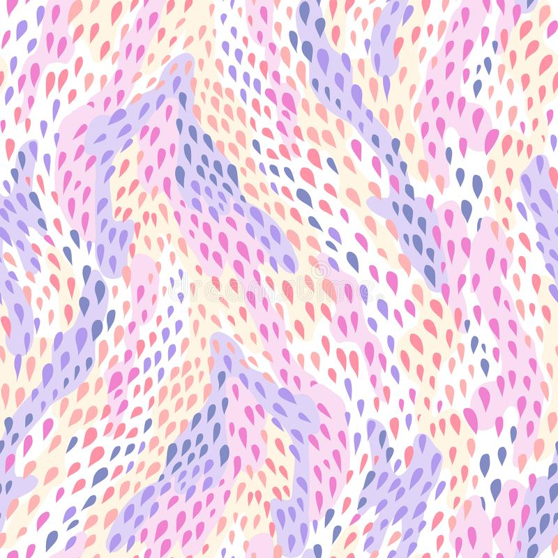 Pele de serpente Pattern ilustração royalty free