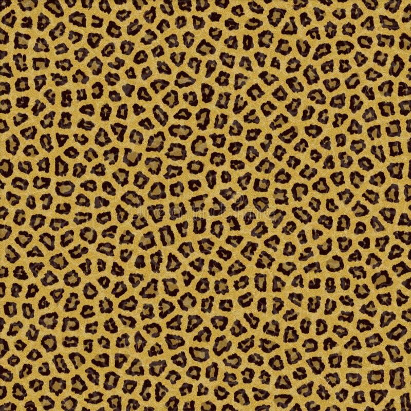 Pele do fundo da textura do leopardo foto de stock royalty free
