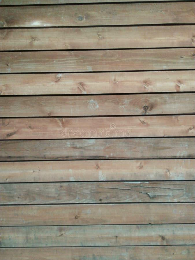 pele la pared de madera en estilo suave del vintage del foco foto de archivo