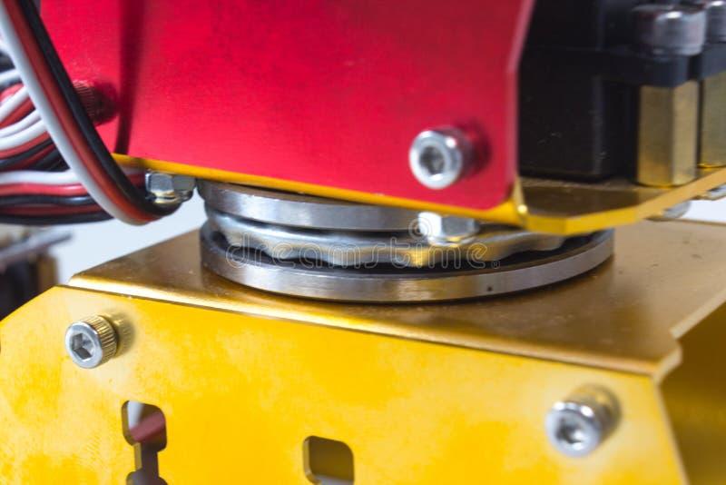 Pelengu obracanie mechanik ręka fotografia royalty free