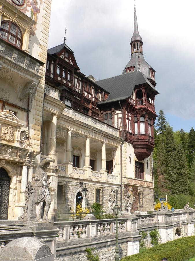 Peles Castle – Sinaia, Romania. stock images