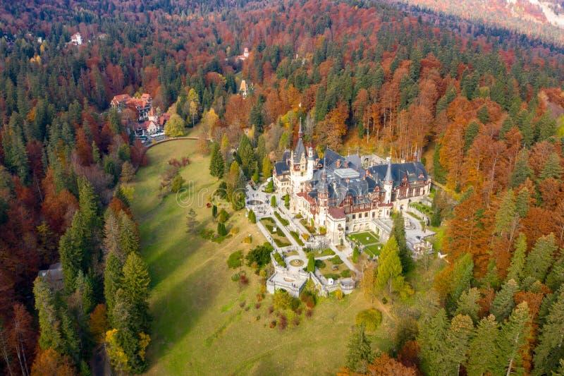 Peles Castle, Sinaia, Romania royalty free stock photos