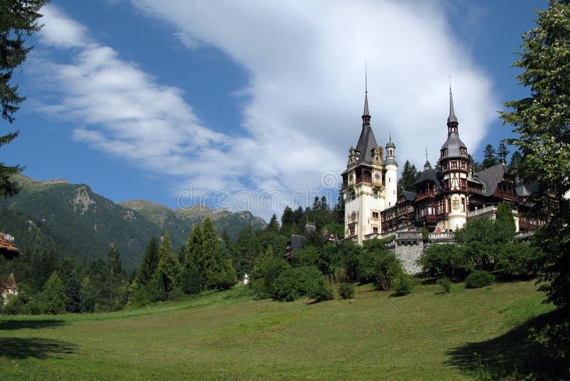 Peles Palace, Sinaia, Romania Royalty Free Stock Photography