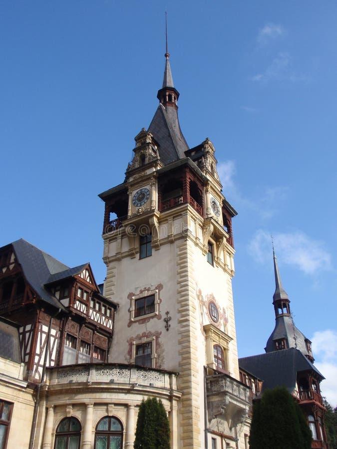 Peles-Schloss-Garten stockfotografie