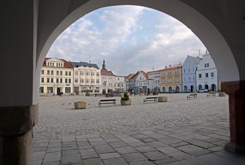Pelhrimov Tjeckien royaltyfria bilder