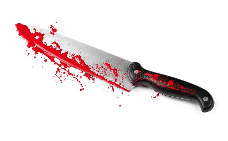 Peligro con los cuchillos foto de archivo