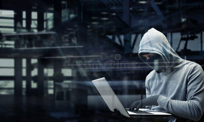 Peligro del ataque del corte imagenes de archivo