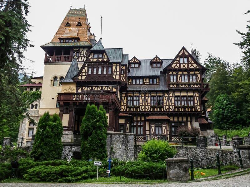 Pelisor Castle. PeliÅŸor Castle (Romanian: Castelul PeliÅŸor) is a castle in Sinaia, Romania, part of the same complex as the larger castle of PeleÅŸ. It stock photos