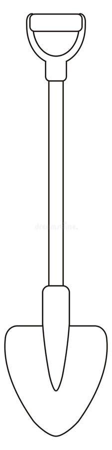 Pelle illustration de vecteur