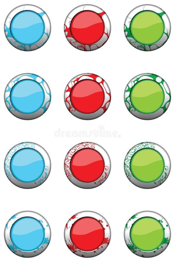 Pelle in bianco 3 dell'icona royalty illustrazione gratis