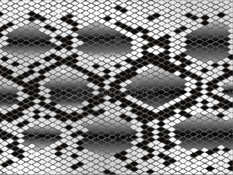 Pelle di serpente illustrazione di stock