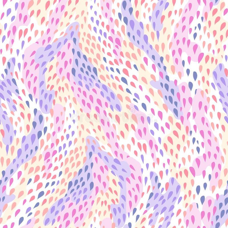 Pelle di serpente Pattern royalty illustrazione gratis