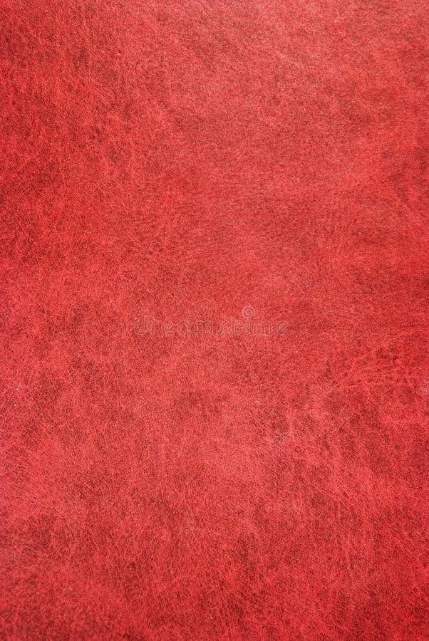 Pelle Rosso Scuro Fotografia Stock