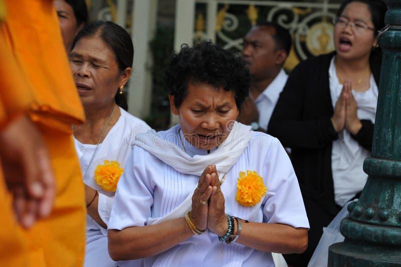 Pellegrinaggio buddista fotografie stock