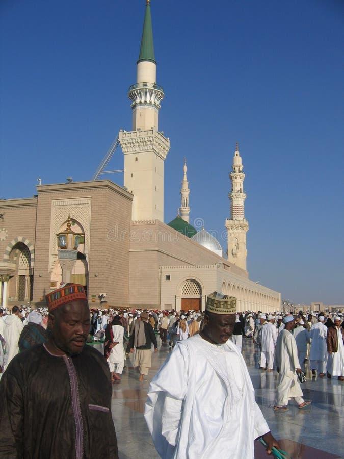 Pellegrini in Medina immagini stock libere da diritti