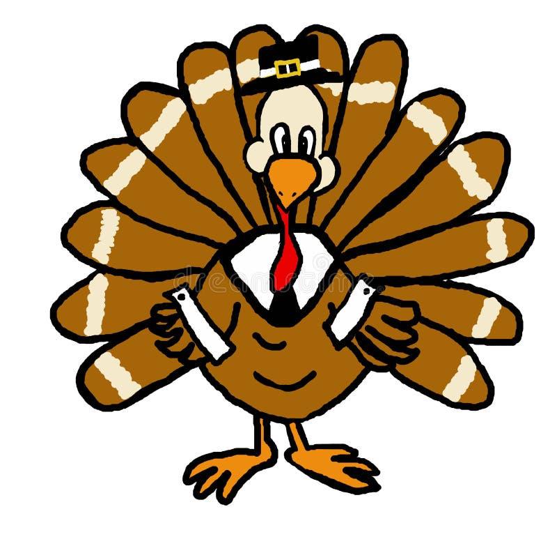 Pellegrino Turchia illustrazione di stock