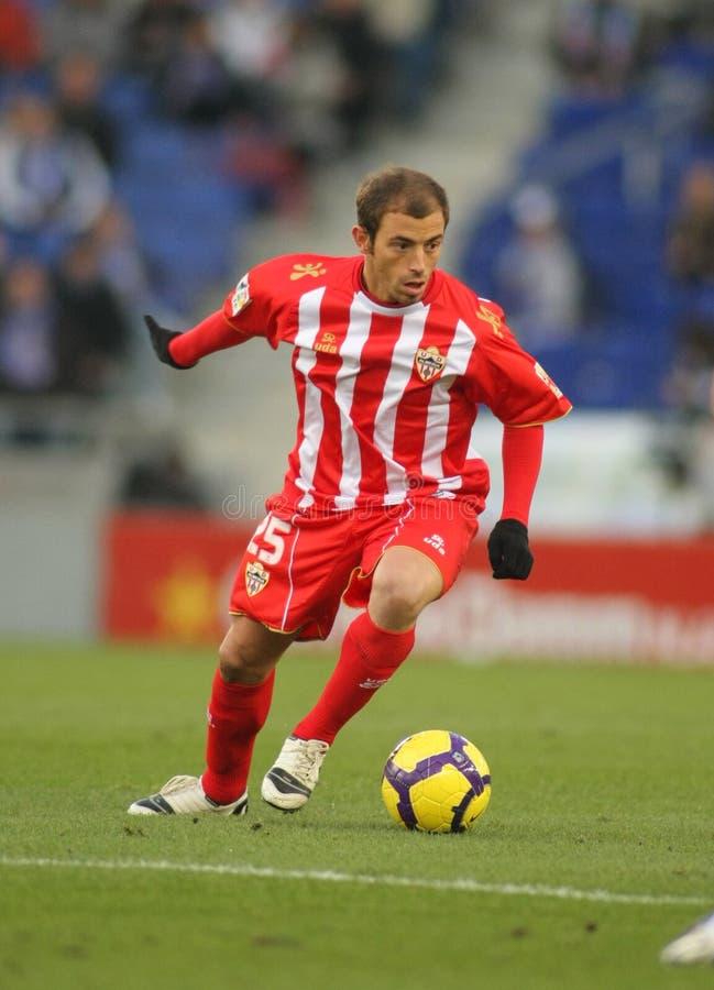 Download Pellerano of Almeria editorial photo. Image of soccer - 12248161