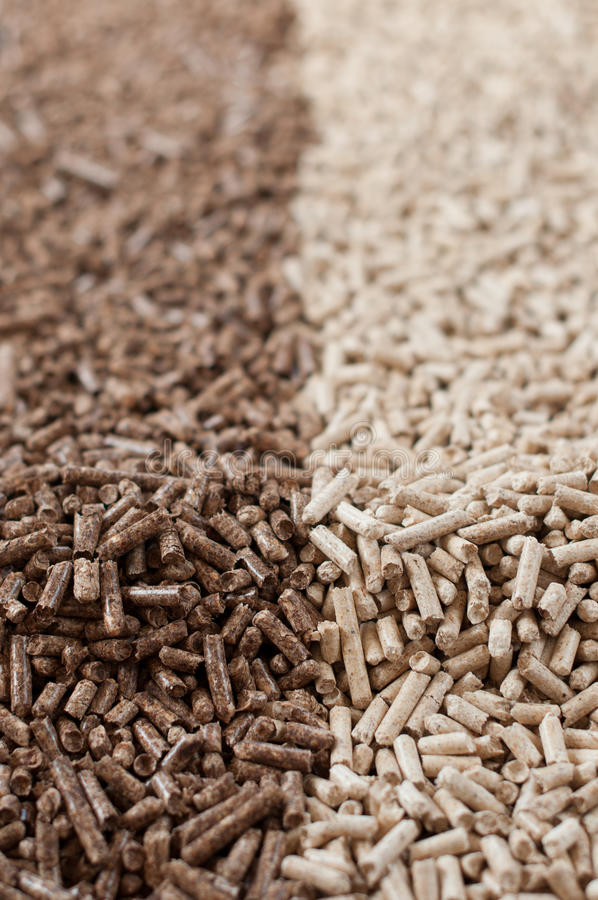 Pellets- Biomass Royalty Free Stock Image