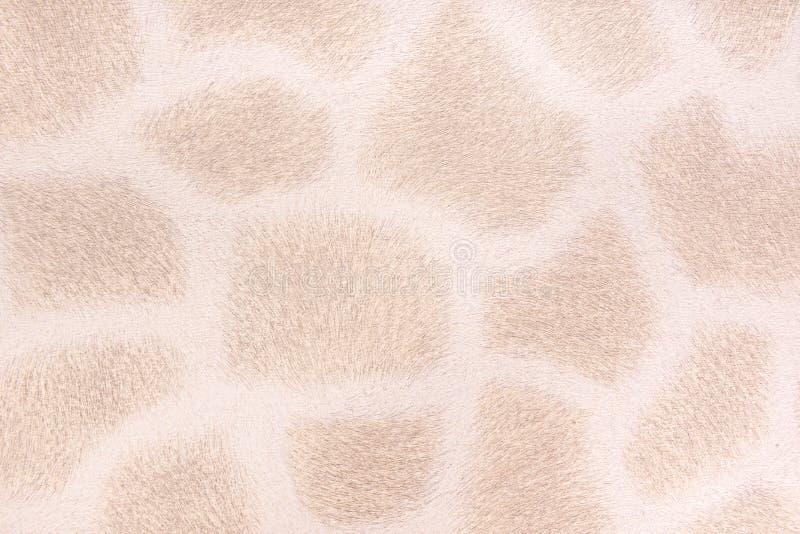 Pelliccia della giraffa, fondo d'imitazione fotografie stock