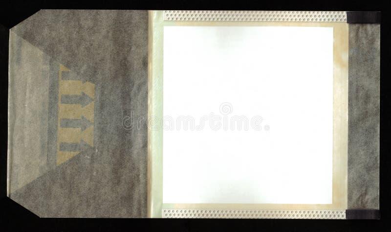 Pellicola antica - aggiunga appena la vostra immagine fotografia stock libera da diritti